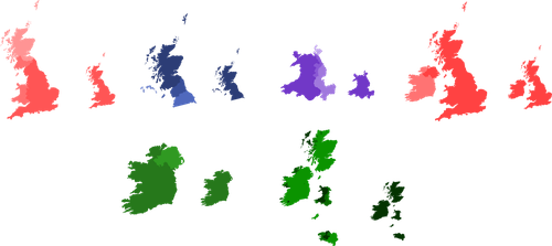 English/Scottish/Welsh/Irish + Celtic Irredentism by Dom-Bul