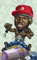 50 Cent Gets Money by CJRuiz