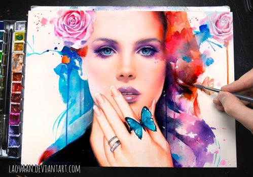 Shades Of Cool - Lana Del Rey inspired by Laovaan