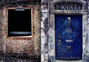 The Stage - Wraparound Book Cover by SBibb