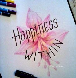 Happiness Within by Verachana