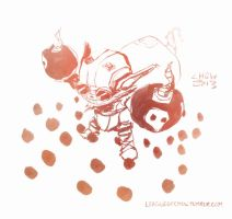 Ziggs, the Hexplosives Expert (June 22nd, 2013) by Alex-Chow