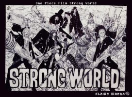 Re-draw:Strong World by ClaireMaeda