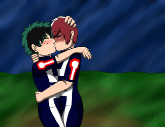 Tododeku Week 4: Endearments by rexyplexy