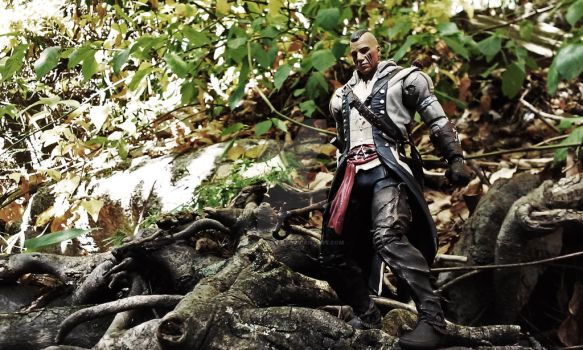 Connor Kenway by M-Watts-Art
