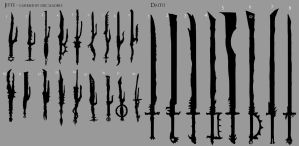 Samurai Orc Weapons 1 by Chenthooran