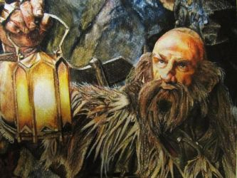 Dwalin Watercolour Portrait by CurlyWurly808