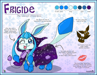 Frigide Reference Sheet by MeMiMouse