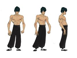 Bruce Lee Turnaround by MrSayonara