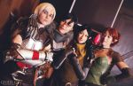 COSPLAY - Dragon age group I by marinecosplaybr