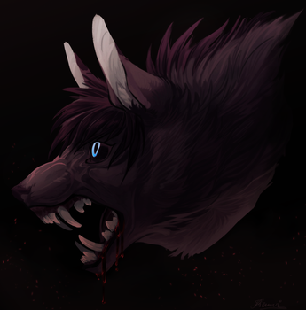 Headshot:. Jinxdoodles (YCH) by Remarin