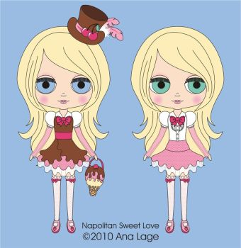 Neo Blythe - Napolitan Sweet L by analage