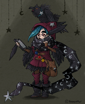 Witchsona 2015 by sleepyotter