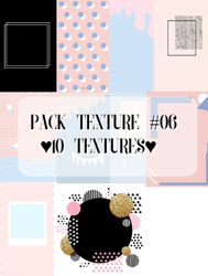 Pack Texture #6 by andreakaisoo