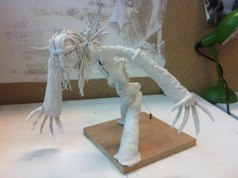 Sprout Maquette by Cloudy0Wolf