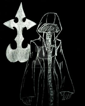 Drawn on Black: KH Organization Coat by InkArtWriter