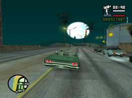 Sucessful GTA:SA Moon Mod by MindlessGonzo