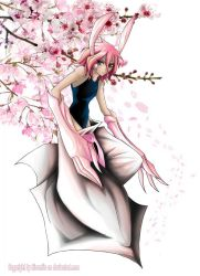 Desire beneath the Peach Blossoms by Simarlin