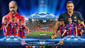 BAYERN MUNCHEN - BARCELONA CHAMPIONS LEAGUE 2015 by jafarjeef