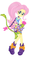 Fluttershy - Friendship Games by MixiePie