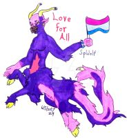 Pride Month 2017 Bisexual by SpellboundFox