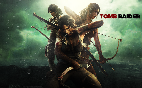 Tomb Raider (2013) Wallpaper by JAYOR