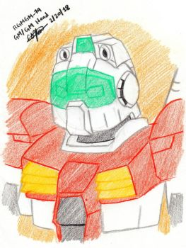 Colored Sketched 020 - GM GM's Head and Body 1 by murumokirby360