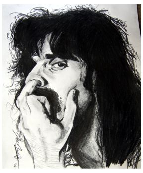 Frank Zappa by The-OXette