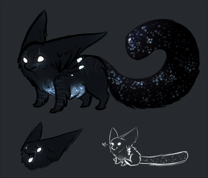 Space Imp by TheseWeirdFishes