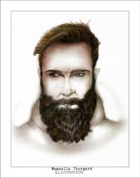 bearded man