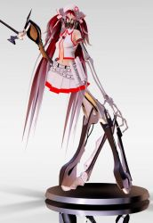 MMD Hatsune Miku Bacterial Contamination #2 Figure by dendewa