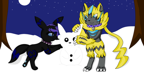 Building a Snowchu Together .:AT:. by xBrokenIllusionx