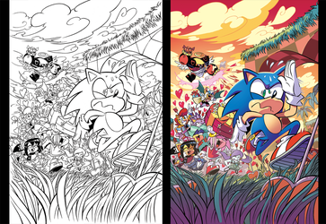 Sonic 281 Valentines Cover by Nerfuffle