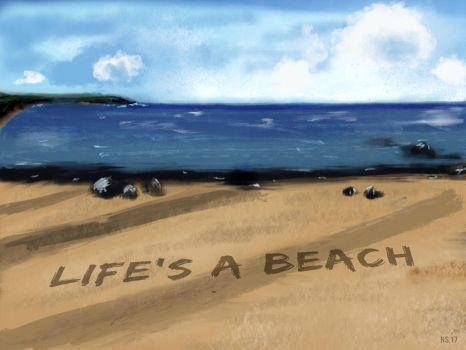 Life's a Beach by Rhunyen
