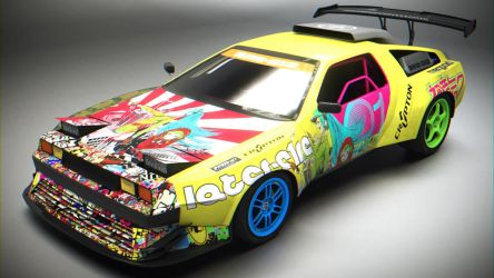 Delorean DFC-512 Drift by BFG-9KRC
