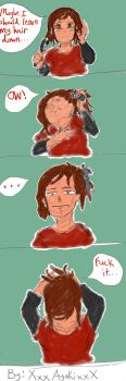 Why Ellie Doesn't Leave Her Hair Down by XxxAyakixxX