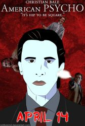 American Psycho Movie Poster by NathanMD