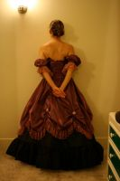 Dress Back 3 by hyannah77-stock