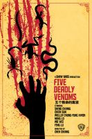 Five Deadly Venoms by bowbood