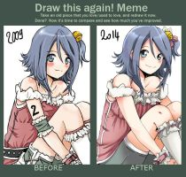 Draw Again Meme - Hisae by caly-graphie