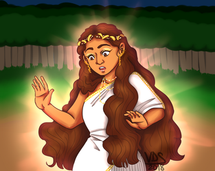 Daughter of Aphrodite by nessaaa95