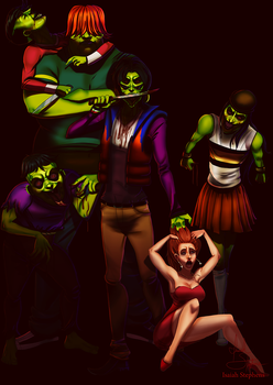 The Gangreen Gang by IsaiahStephens