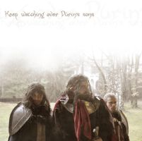 Keep watching over Durins' sons by AlyTheKitten