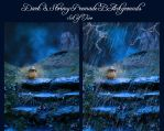 Dark and Stormy Night - Two Premade Backgrounds by la-voisin