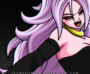 Majin Android 21! by FlameXSilver
