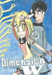 Iwahara's Dimension W: Kyoma and Mira by FTFTheAdvanceToonist