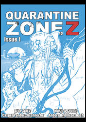 Quarantine Zone Z Issue 1 cover (unfinished) by Cisper97