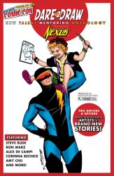 Dare2Draw B W NEXUS Mentoring Anthology NYCC  M 9 by Dare2Draw