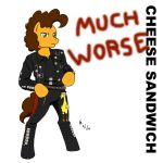 Cheese Sandwich Much Worse by mayorlight
