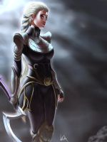 Diana - League of Legends by ViiPerArt